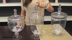 dessert table decor glass apothecary jars youtube