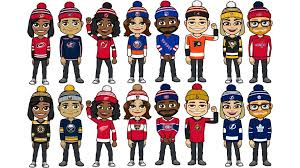 how to make fan edits nhl themed available for bitmoji