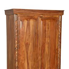 Solid Wood Armoire Wardrobe Empire Traditional Solid Wood Armoire Wardrobe Cabinet