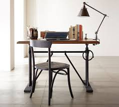 Sit To Stand Desk Pittsburgh Crank Standing Desk Pottery Barn