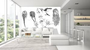 original design wallpaper panoramic non woven d247b cheveux
