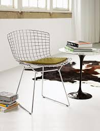 Bertoia Dining Chair Bertoia Side Chair Design Within Reach