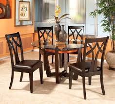 Round Espresso Dining Table Round Dining Table And Chair Sets U2013 Mitventures Co