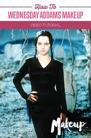 Easy Halloween Makeup Tutorials by 27 Best Wednesday Addams Cosplay Images On Pinterest Wednesday