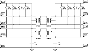 connecting two ethernet phy without magnetics electrical