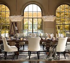 Extended Dining Table Banks Extending Dining Table Pottery Barn Ca