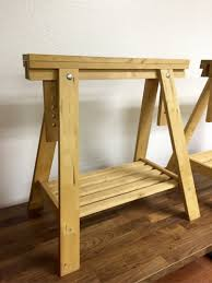 sawhorse table legs for sale home table decoration