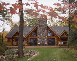 small log cabin floor plans rustic log cabins small log home with stone this will be my house love these houses