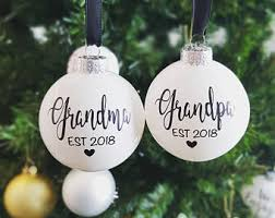 eight pack ornaments white silver or clear customization