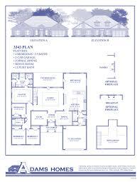 Townhouse Floor Plans 2 Bedroom House Plan Adams Homes 3000 Floor Plan Adams Homes Adams