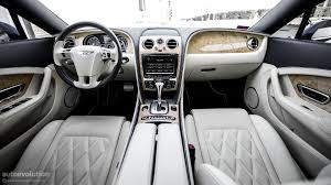 blue bentley interior bentley continental gt w12 review autoevolution