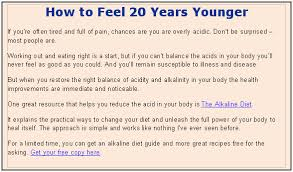 is acid causing your joint pain how is your ph