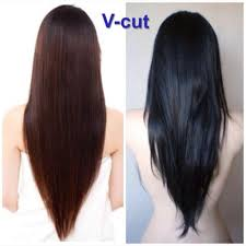 v haircut for long hair how to u shaped hair cut style for girls