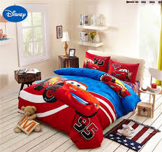 bedding and home decor lightning mcqueen cars bedding set cotton bedclothes cartoon disney