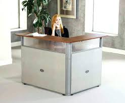 Small Salon Reception Desk Office Desk Office Reception Desk Designs Large Size Of