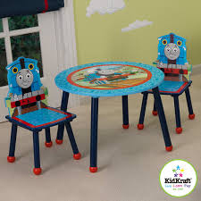 thomas train table amazon amazon com kidkraft thomas and friends table and chair set toys with