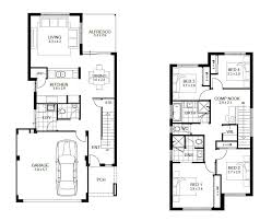 2 story house plans with garage two storey design philippines