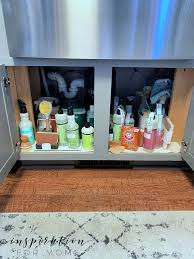 how to organize the sink cabinet the best tips on how to organize the kitchen sink
