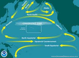 Map Of Pacific Ocean How Debris Accumulates Or U0026r U0027s Marine Debris Program