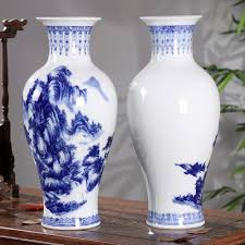 jingdezhen ceramic vase decoration porcelain vase flower new