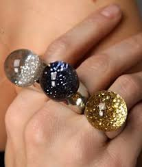 crystal ball rings images The 107 best beautiful resin stuff images resins jpg