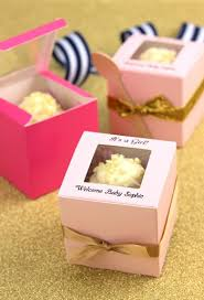 personalized favor boxes personalized baby shower cupcake favor boxes gift wrapping