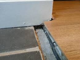 Door Strips For Laminate Flooring Flooring How Can I Transition Between These Floors Home