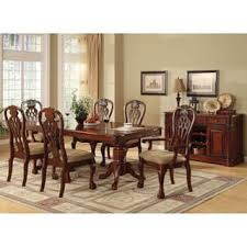 cherry dining room cherry finish kitchen dining room sets for less overstock com