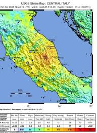 Earthquake Map Seattle by Map Felt 2 7 Magnitude Earthquake Hits 30 Km West Of Ascoli