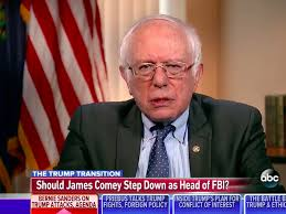 comey acted in an outrageous way during the campaign u0027 bernie