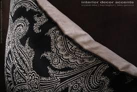 Paisley Home Decor Schumacher Silk Paisley Lee Jofa Velvet Elegant Pillows