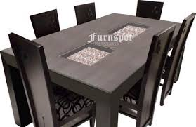 modular dining table and chairs modular dining table at rs 39000 piece wooden dining table id