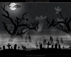 halloween backgrounds scary graveyard wallpapers wallpapersafari