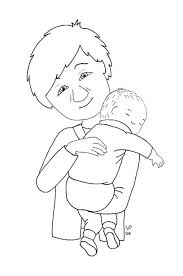 free baby coloring pages coloring pages 1