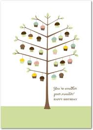 cupcake tree card all things cupcake