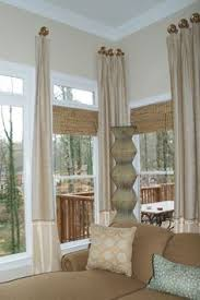 Stationary Curtain Rod Elegant Stationary Panels Custom Designed For A Great Room With