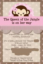 jungle baby shower invite baby shower ideas for girls baby shower queen of the jungle