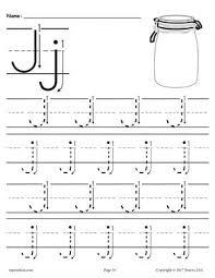 free preschool letter j worksheets u0026 printables