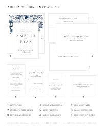 Guest Invitation Card Amelia Wedding Invitations Wedding Invitations By Shine