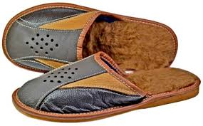 Mens Duvet Slippers Handmade Leather Shoes Slippers U0026 Wallets Made In Poland