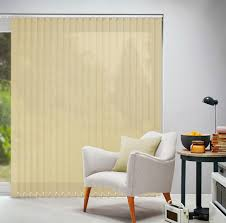 acacia cream vertical blind