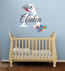 Personalized Name Wall Decals For Nursery by Decor Designs Decals Vinyl Wall Art Decals And Stickers