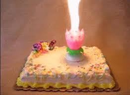 spinning birthday candle this singing and rotating birthday candle is something out of a