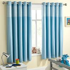 Lined Nursery Curtains by Buy Sweetheart Blackout Blue Kids Curtains Online Home Focus At