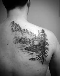 50 river tattoos for flowing water ink ideas