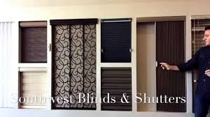 patio doors panel track blinds for patio doors smashingplates us