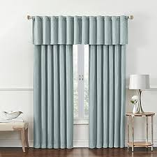 Bed Bath And Beyond Window Valances Rockwell Room Darkening Window Curtain Panel And Valance Bed