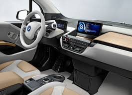 electric cars bmw interior of the all electric bmw i3 the eucalyptus wood ages with
