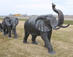 elephant statue full size adult male elephant statue bronze irongate garden elements