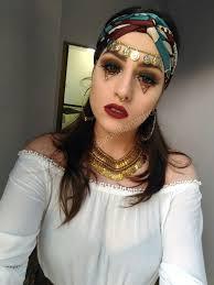 fortune teller gypsy makeup costume cigana fantasia halloween
